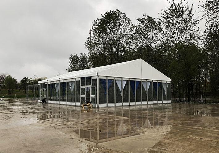郑州篷房租赁出租厂家还您一个梦幻般的透明篷房