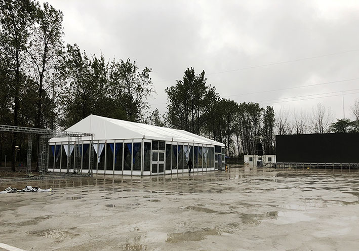 郑州篷房租赁厂家都有哪些类型的透明玻璃篷房