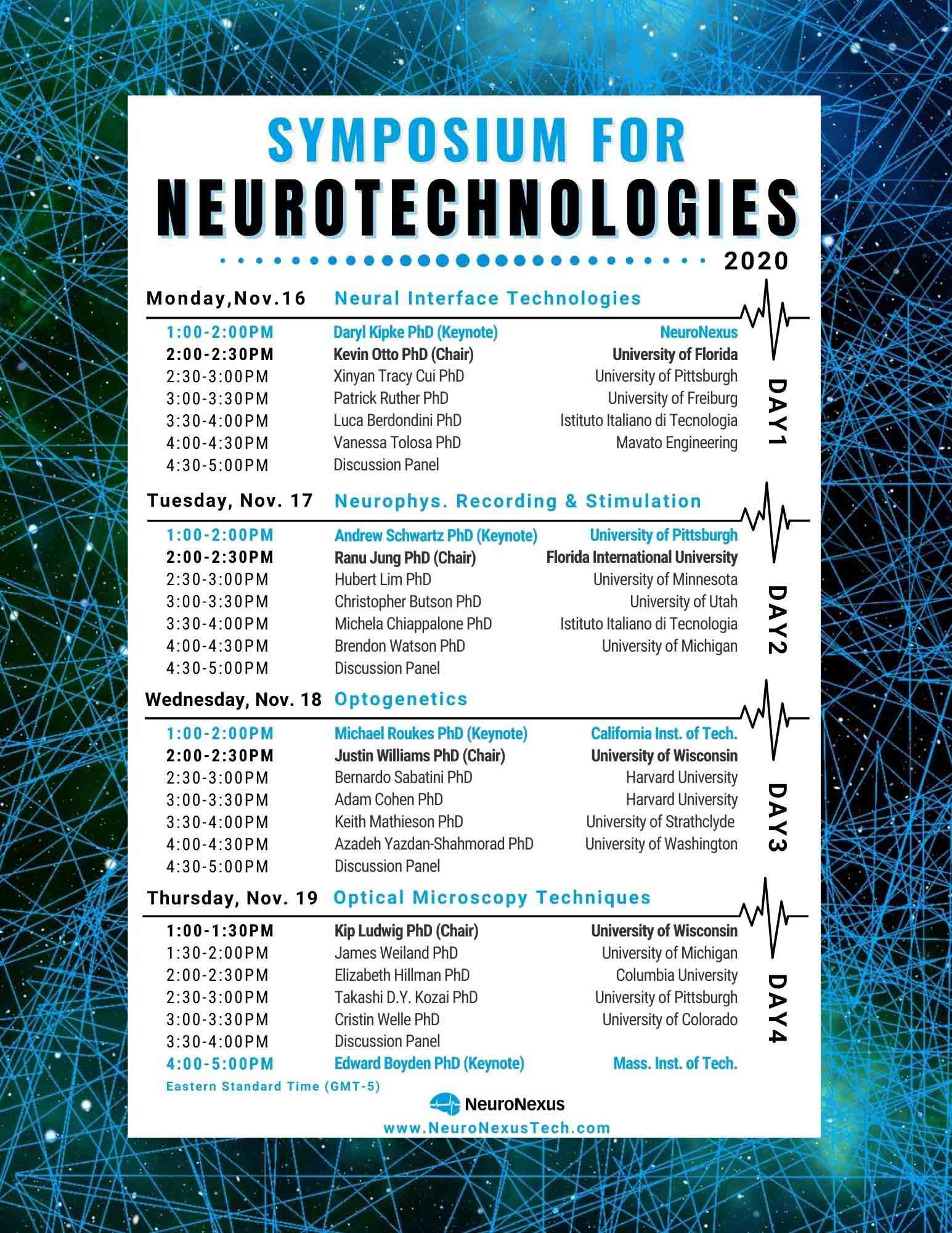 NeuroNexus公司举办神经科学线上研讨会