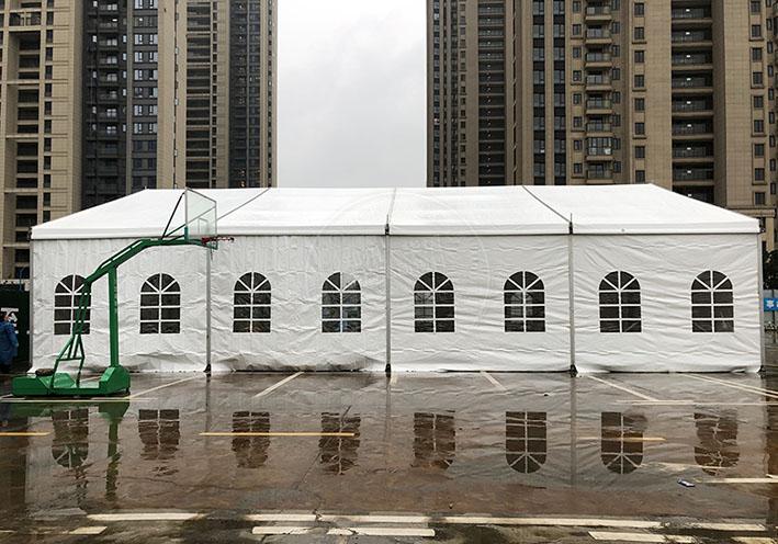 如何提高郑州尖顶篷房租赁出租的保暖效果