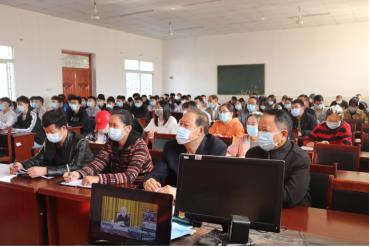 我校组织《中央宣讲团在教育部开展的学习贯彻党的十九届五中全会精神报告会》学习活动