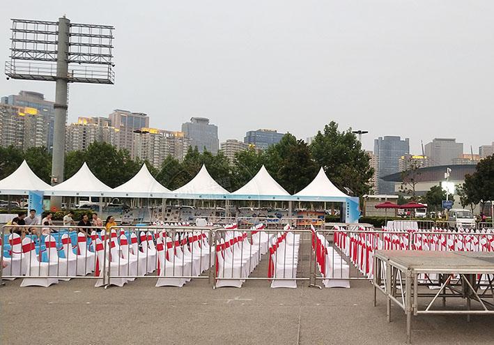郑州尖顶篷房租赁出租厂家讲解搭建要点