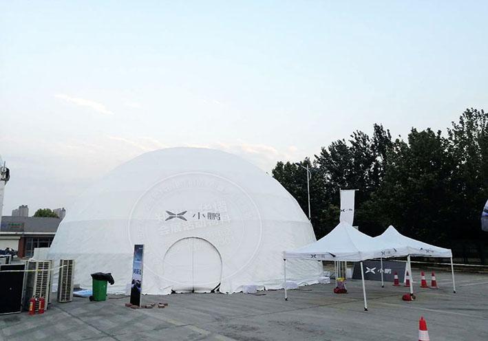 郑州球形篷房租赁出租厂家搭建分享