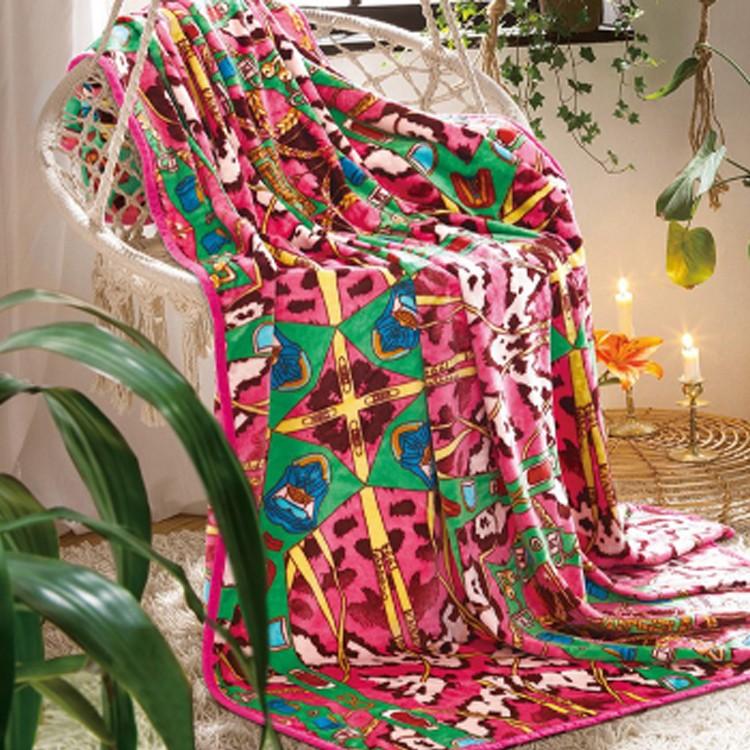 富安娜法兰绒毯-摩登维纳