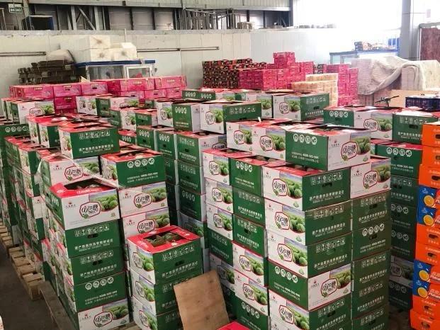 久泰农产品推介会在济南堤口果品批发市场举办