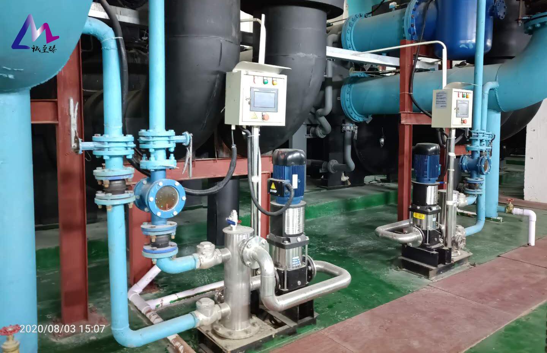 冷凝器自动在线清洗:制冷系统的必备装置