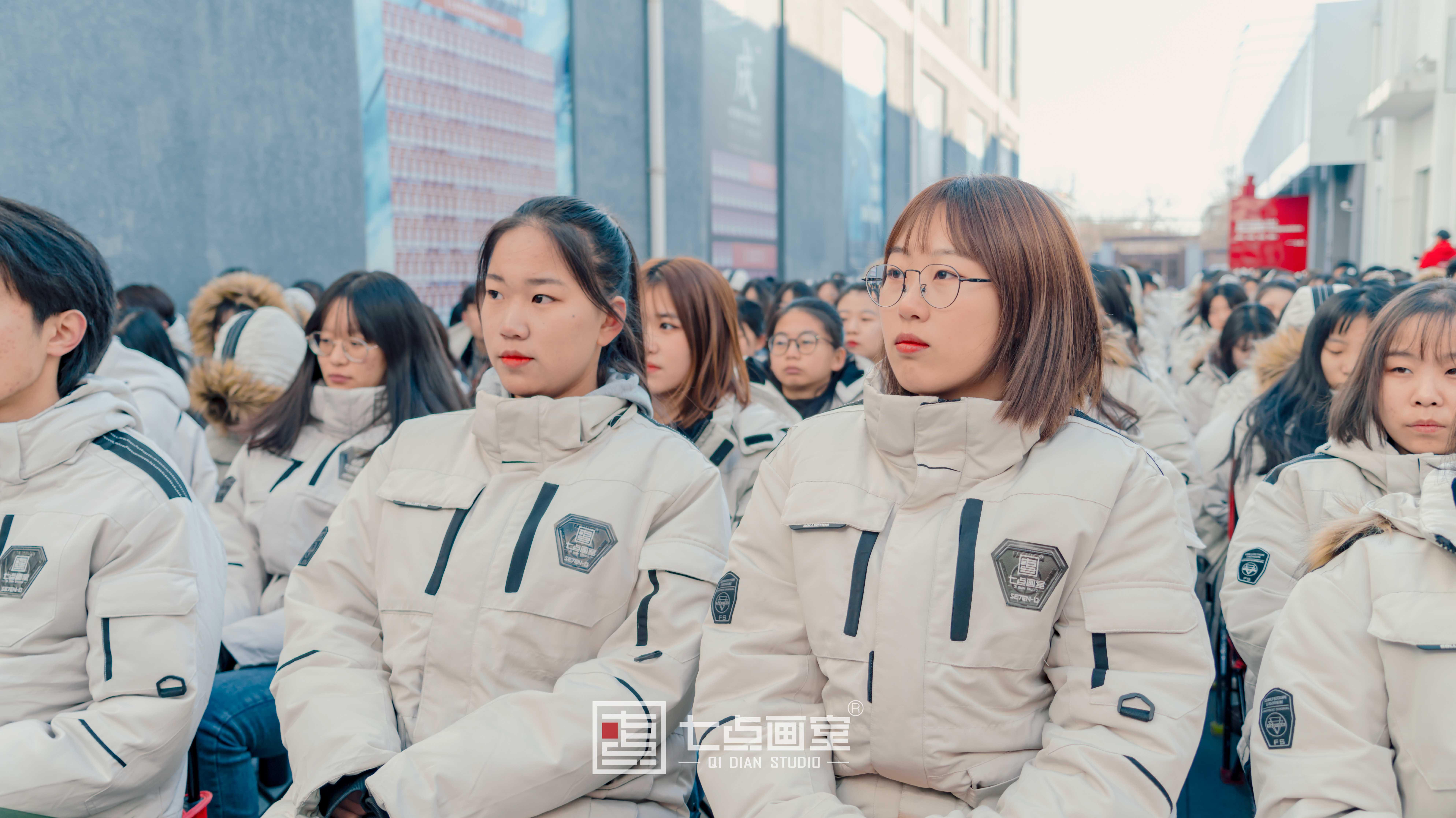 七点画室2021誓师大会,联考必胜!