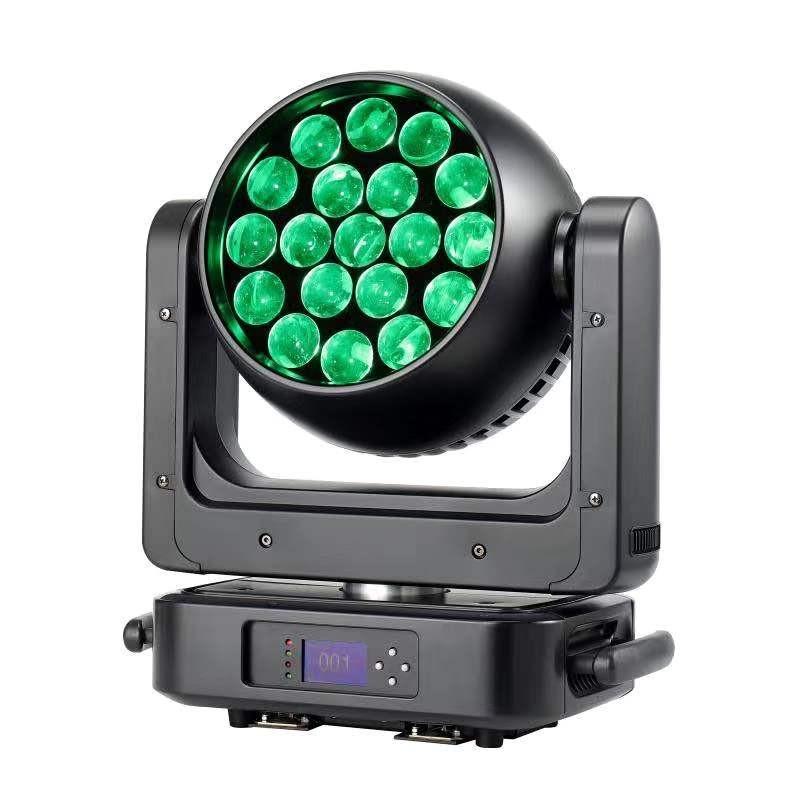 19颗25W LED调焦染色灯
