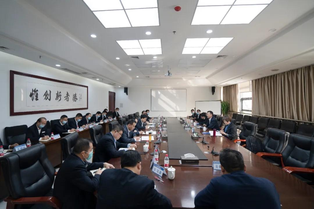 李建斌前往中铁装备宣讲党的十九届五中全会精神