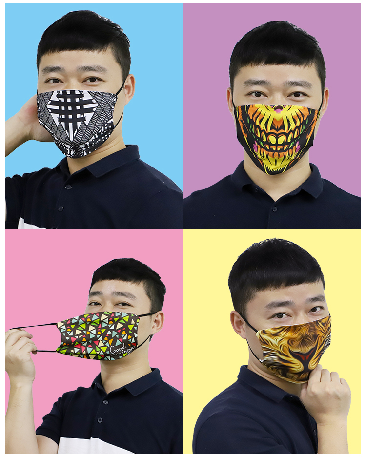 Adjustable and full Printable Face Mask