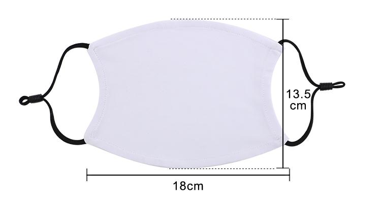 Size for Large size Adjustable Masks