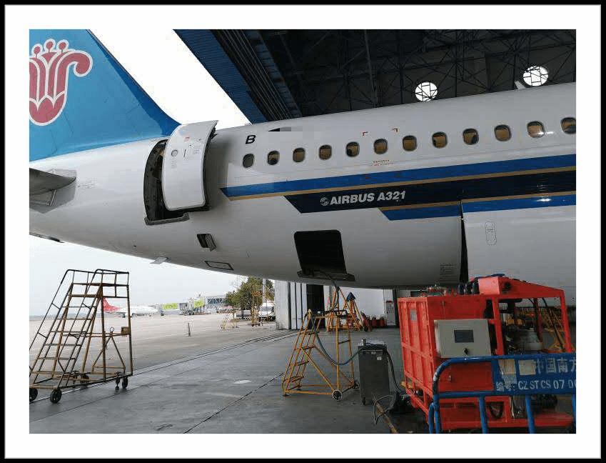 飞机真空厕所异味和污水管路结垢清洗方案