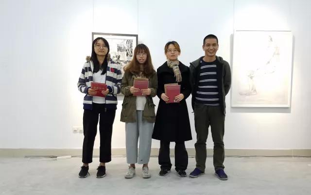 开幕及颁奖思想日记--首届一尚教育素描艺术展