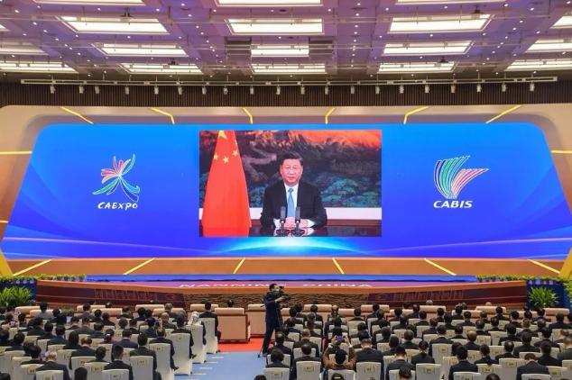 中船应急亮相中国-东盟博览会