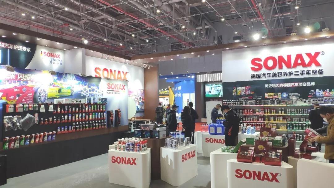 SONAX携诸多新品/套装强势登陆法兰克福汽配展