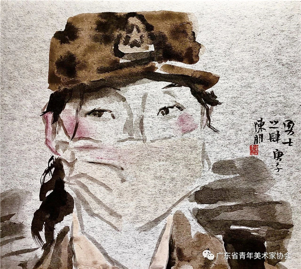 戮力同心 抗疫前行——广东青年美术家防疫主题创作(四)