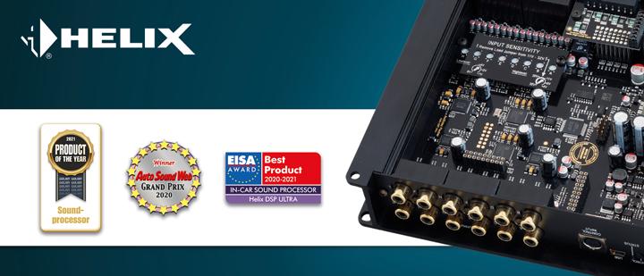 实至名归!德国HELIX DSP ULTRA十二声道处理器再获两项国际权威大奖
