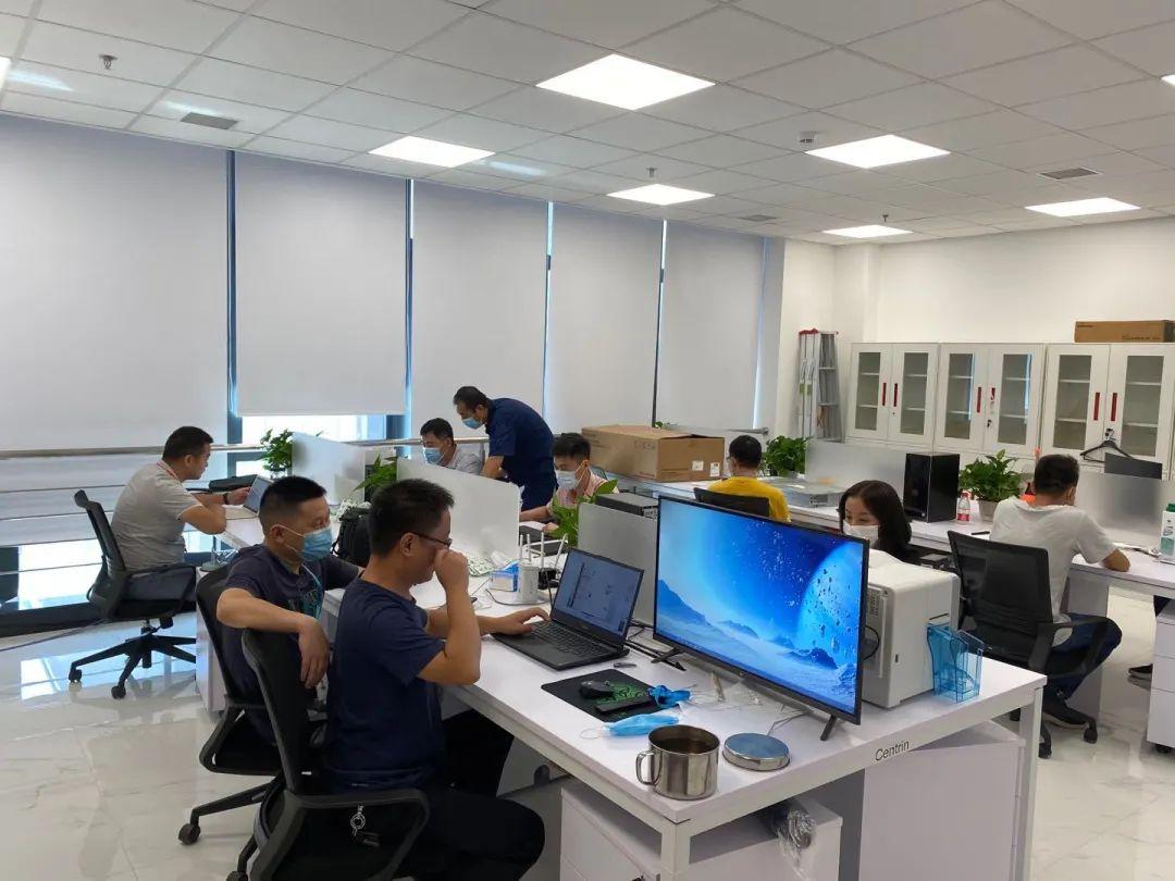入驻办公!网安基地核心区迎来首批企业员工