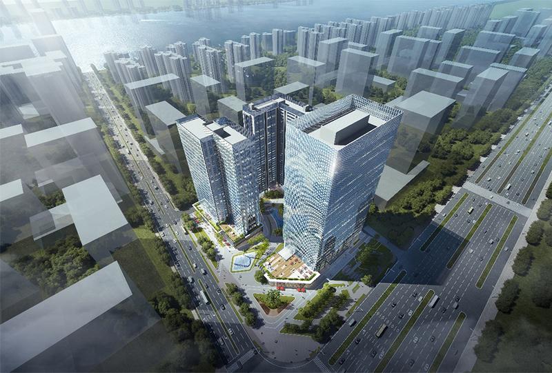 中山訊美科技廣場項目亮相中山市重點項目集中動工儀式