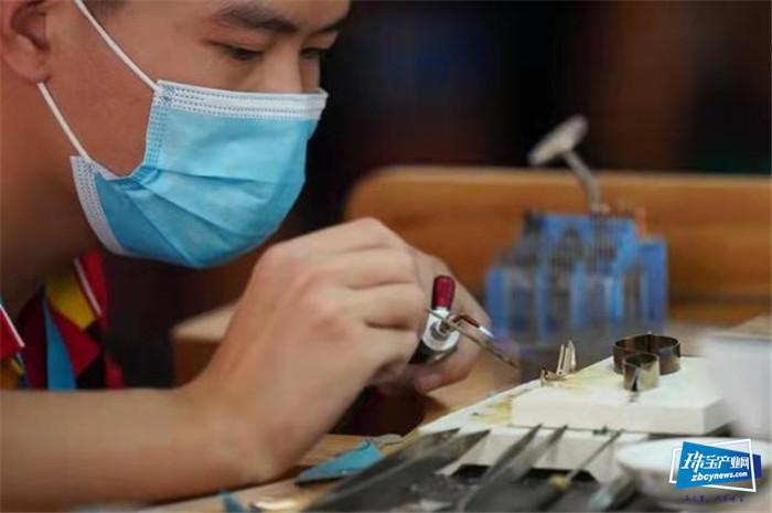 珠宝工艺闪耀国赛,看手艺人的巧手匠心