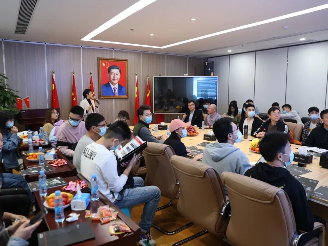 热烈欢迎清华大学深圳国际研究生院师生一行莅临施罗德工业集团参观交流!
