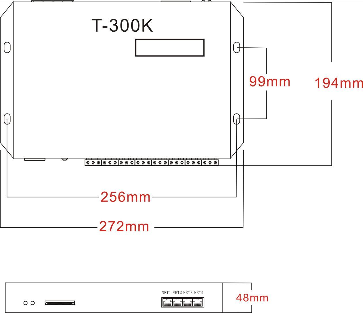 魔灯T-300K幻彩LED控制器简介