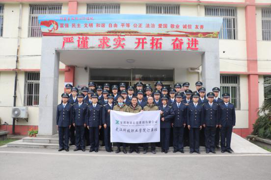 我院舉行2019級深圳地鐵訂單班開班儀式