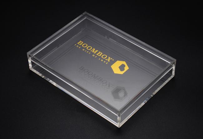 透明亚克力盒定制加工