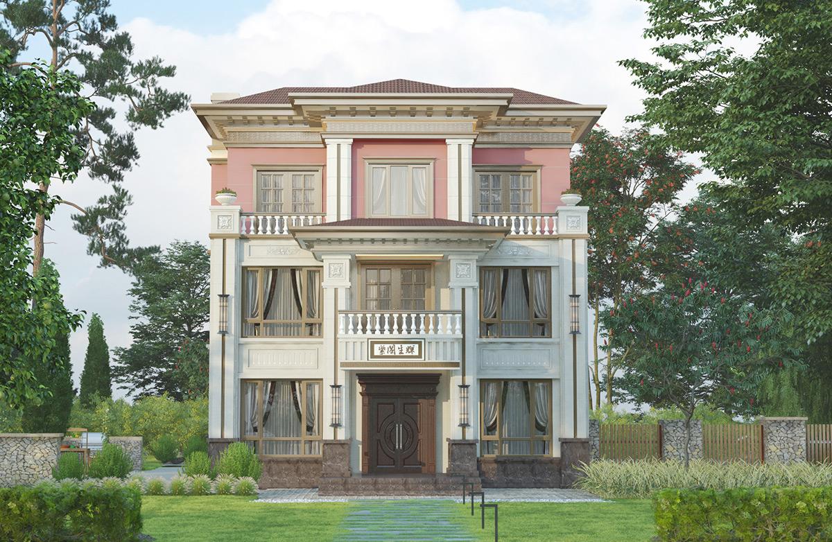 农村三层半自建房真实图,酝酿至今终于开工!
