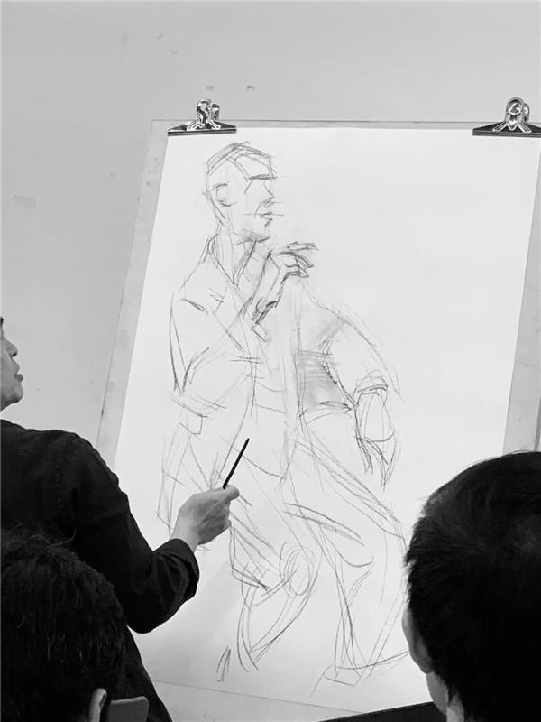 【名家讲座】1月11日陈永忠素描人物现场示范课花絮分享