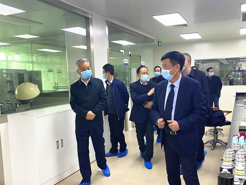 广东省人民政府陈良贤副省长到广州好迪集团生产基地考察调研