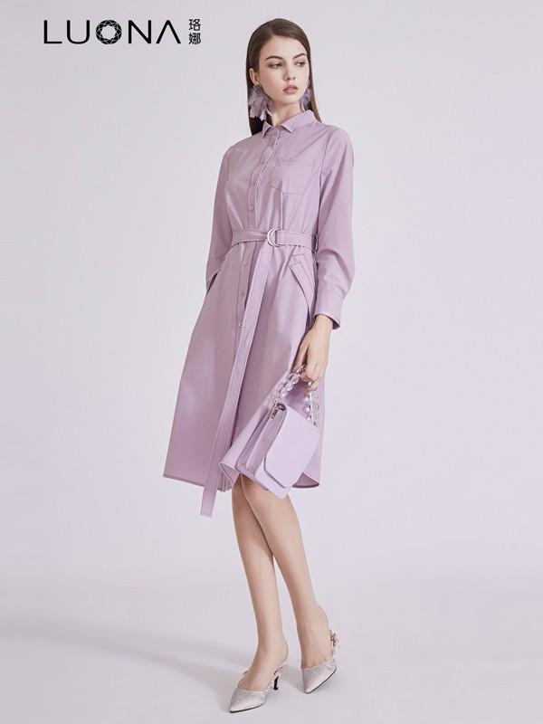 阿莱贝琳时尚品牌折扣女装店2021上新【珞娜LUONA】品牌女装系列