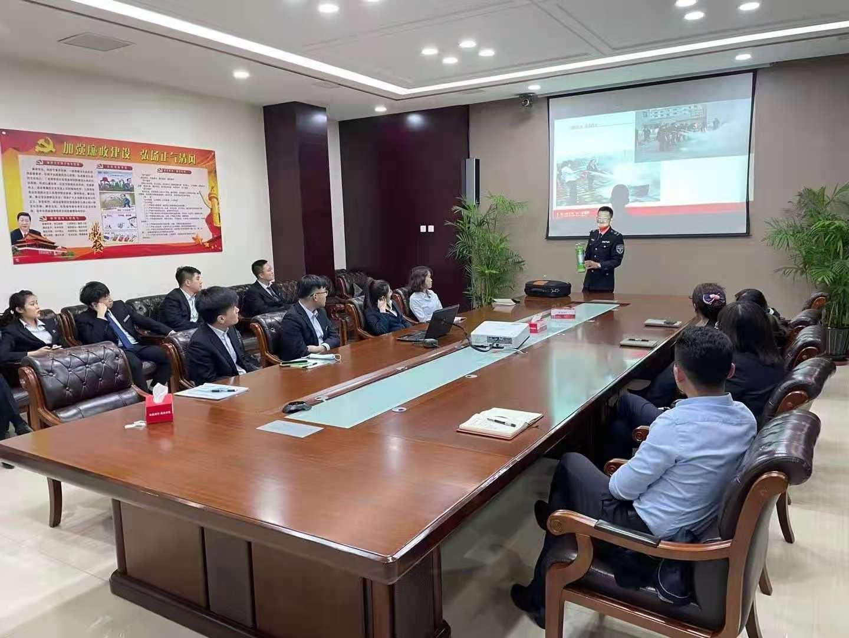 丹东分中心为锦州银行开展冬季消防培训及逃生演练