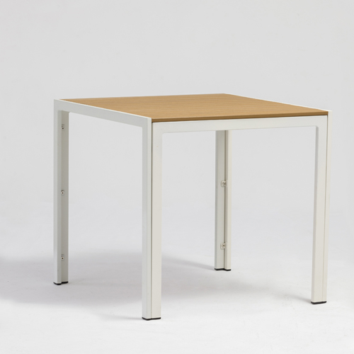 Plastic wood table