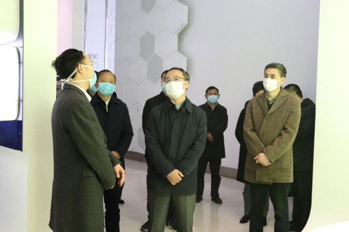 四川省副省长李云泽到我司调研