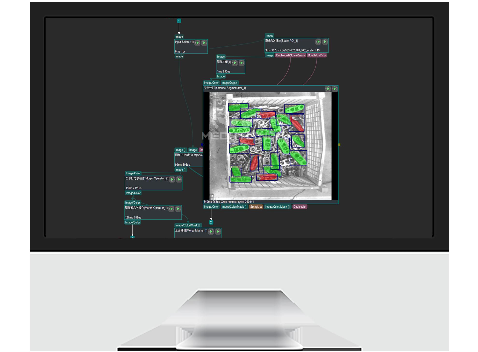 Mech-Visionパターン化アルゴリズムソフトウェア