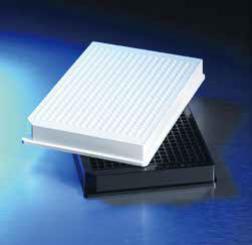 Corning® 384孔低边缘全黑/白微孔板