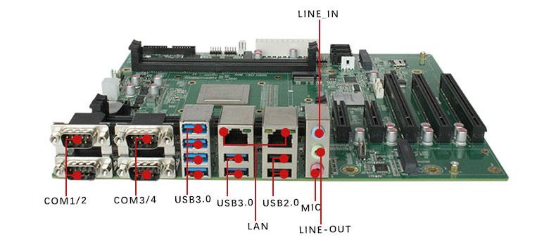 AI国产主板GM-P201F