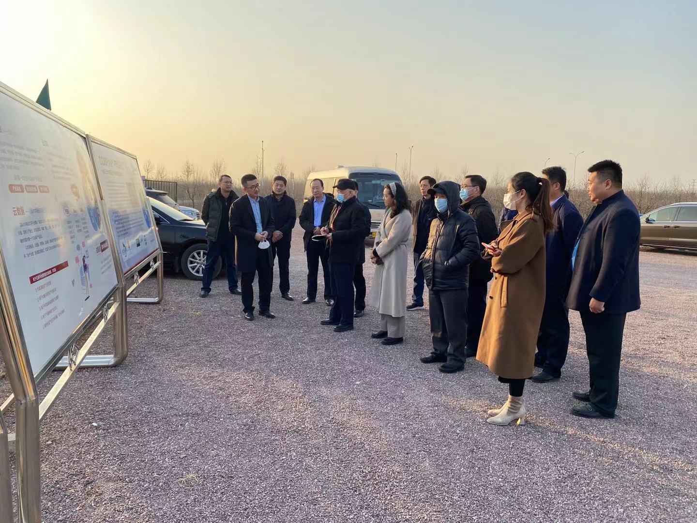 国家调研组来潍坊调研文冠果产业发展情况