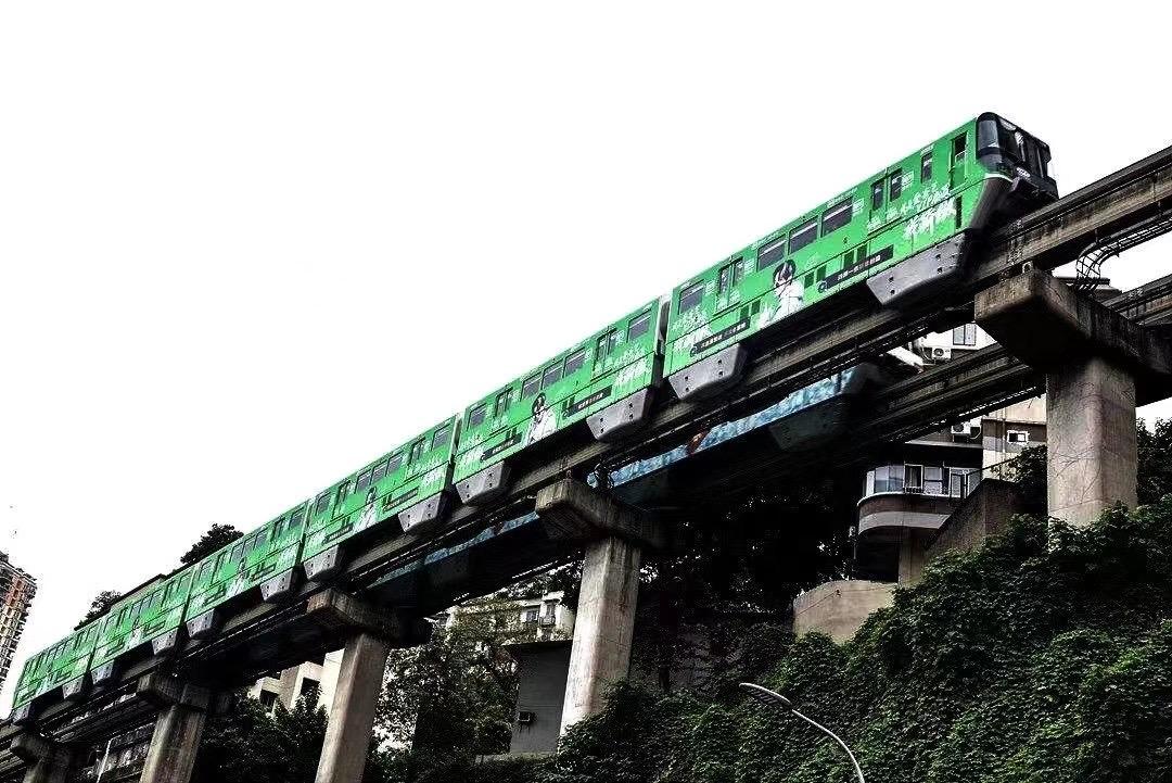 重庆地铁外包车广告成功案例展示