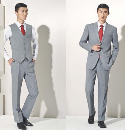 商务场合 定制西装选择什么颜色好