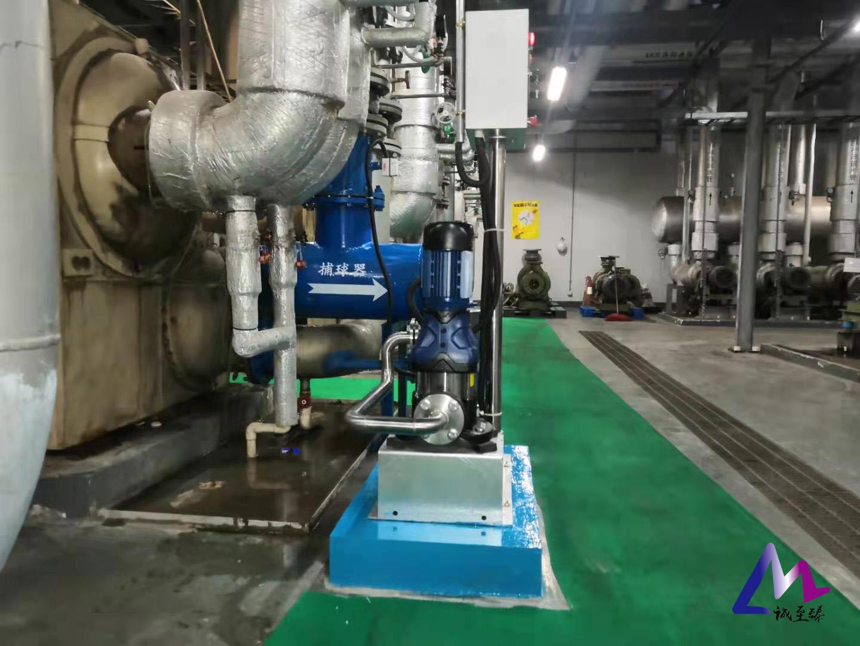 安装冷却器自动在线清洗装置,一年节省近百万