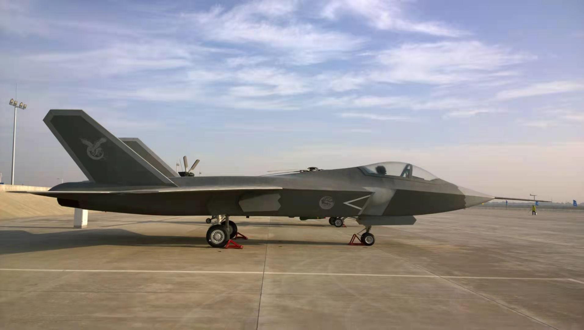 歼-31模型