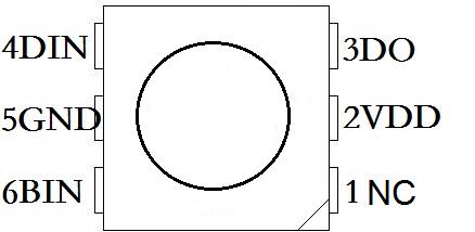 魔灯WS2813灯珠规格