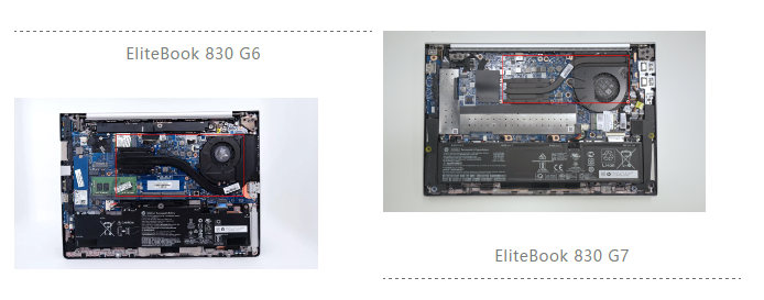 HP EliteBook 800 G7与上代升级对比:10处变化,彰显精英商务本色!