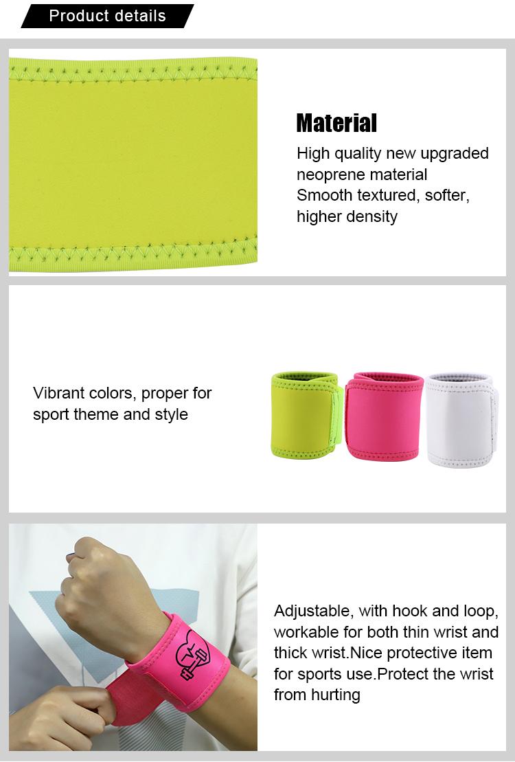 Sublimation Blank Neoprene Wristband