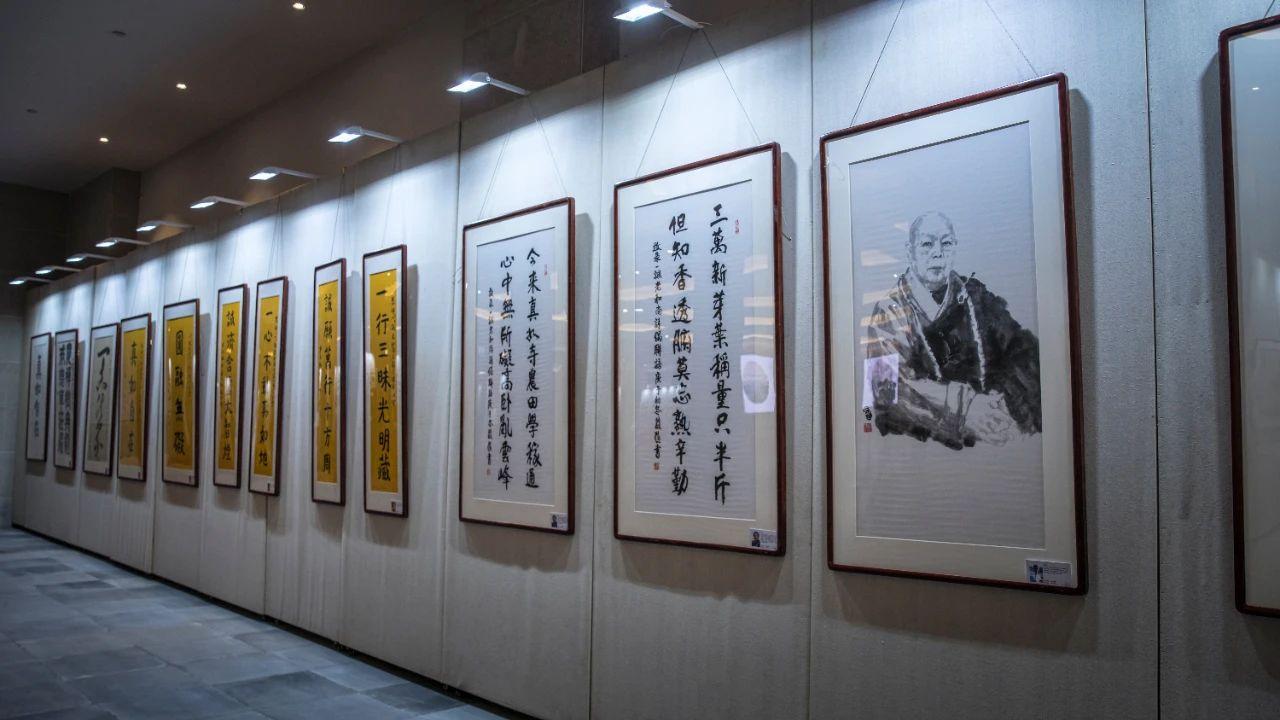 禅墨巨匠 直指真如——一诚老和尚圆寂三周年图片暨书画展开幕