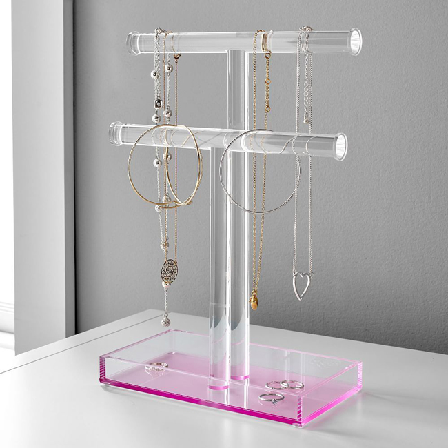亚克力珠宝展示道具