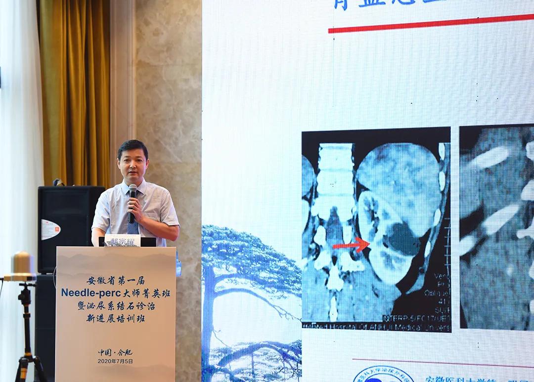 安徽省第一届 Needle-perc大师菁英班暨泌尿系结石诊治新进展培训班成功举办
