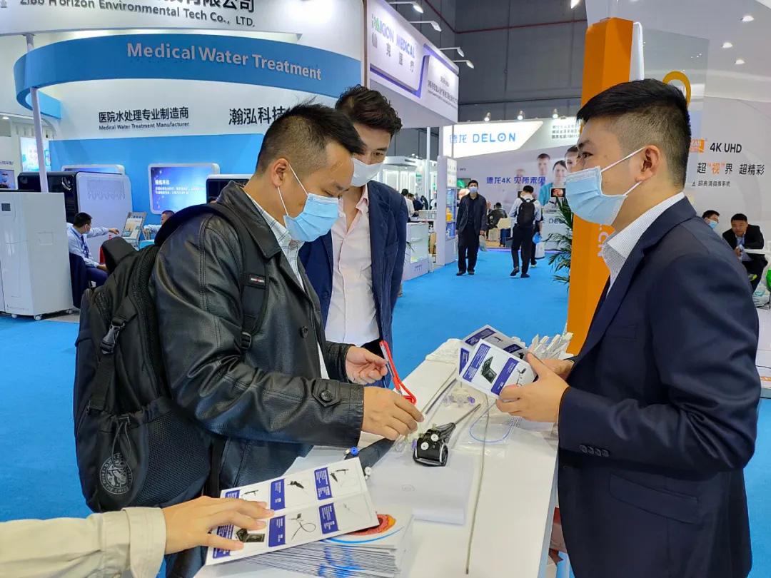 佑康科技参加在沪举行的83届CMEF圆满成功!